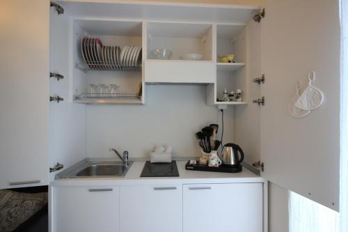 Cucina o angolo cottura di Rooms & Breakfast Il Punto...