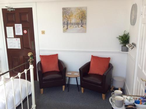 A seating area at The Gables