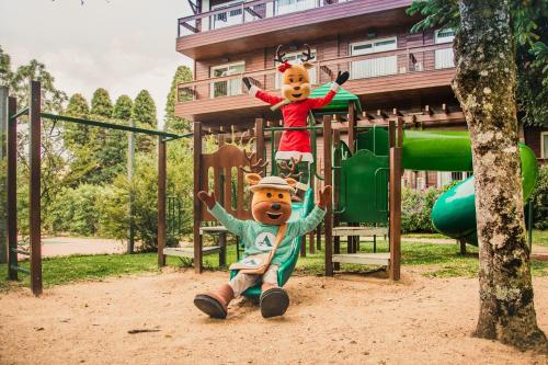 Children's play area at Hotel Alpestre