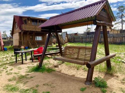Children's play area at Guest House Otdykh na Baykale