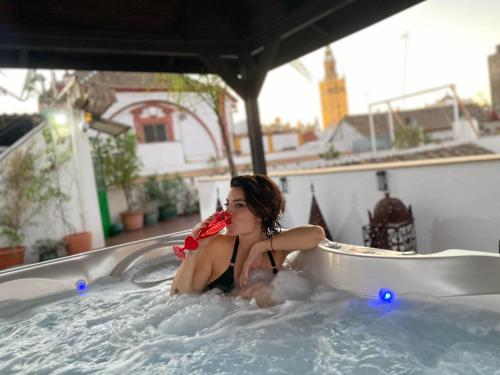 The swimming pool at or near El Rey Moro Hotel Boutique