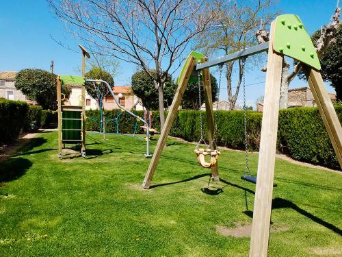 Zona de juegos infantil en Casa Rural Marga