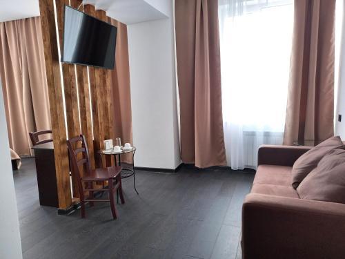 Гостиная зона в Отель Планета Спа