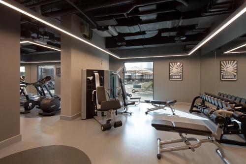 Фитнес-центр и/или тренажеры в Rove Healthcare City