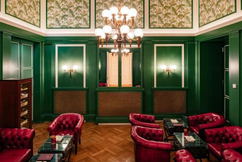 The lobby or reception area at Hotel Atlantic Hamburg, Autograph Collection
