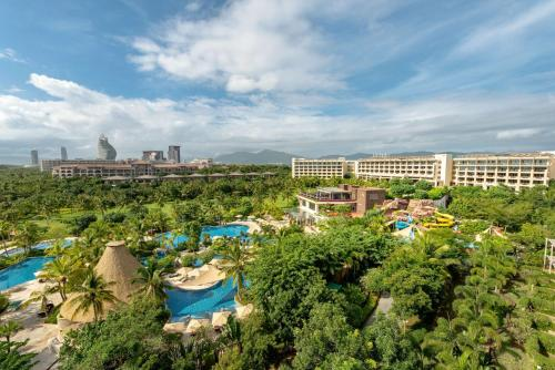 A view of the pool at Shangri-La Sanya or nearby