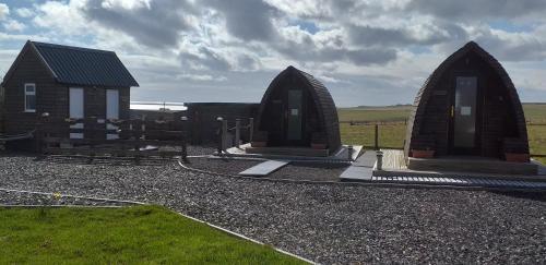 Hillside Camping Pods and Shepherd's Hut