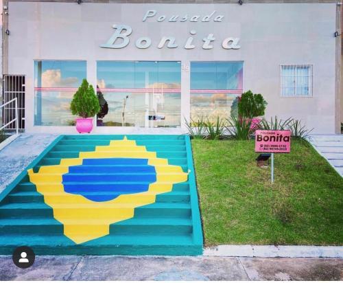 The swimming pool at or near Pousada bonita