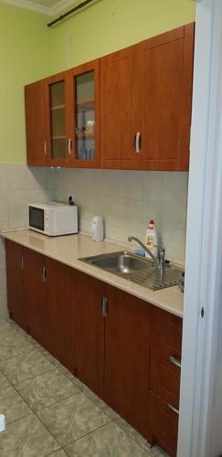 A kitchen or kitchenette at Alice Panzio