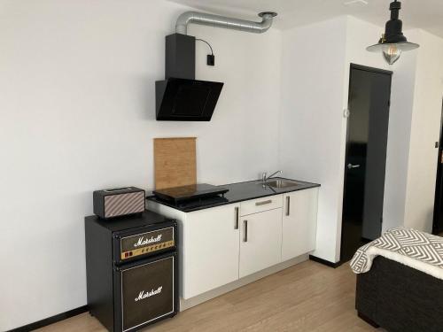Een keuken of kitchenette bij Sheepyhead