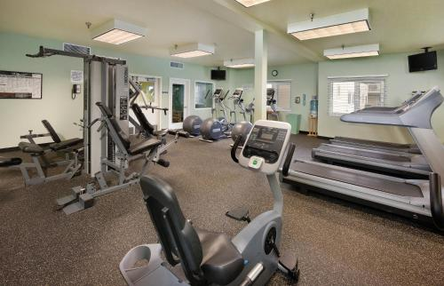 The fitness center and/or fitness facilities at WorldMark Long Beach