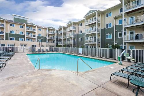 The swimming pool at or near WorldMark Long Beach