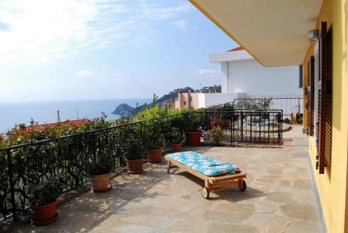 Balcone o terrazza di Casa Bellavista