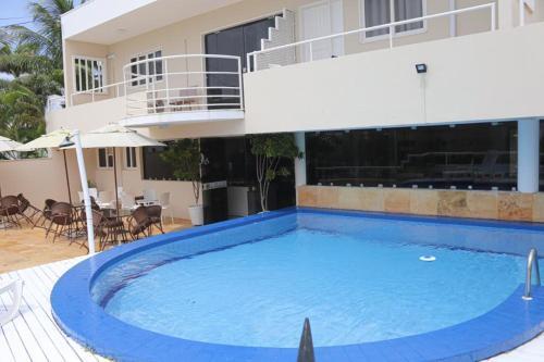 A piscina localizada em Hotel Belo Horizonte ou nos arredores