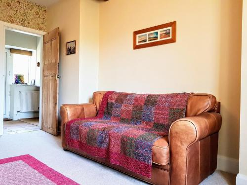 A seating area at Riding Head Cottage Luddenden