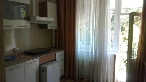 Кухня или мини-кухня в Отель «Золотая Пальма»