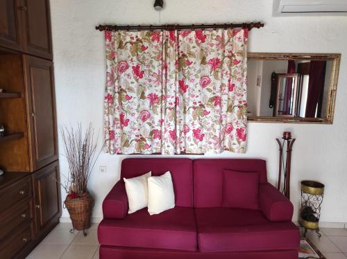 A seating area at Melia's House