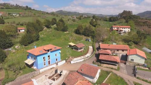 Una vista aérea de Casa Paulita