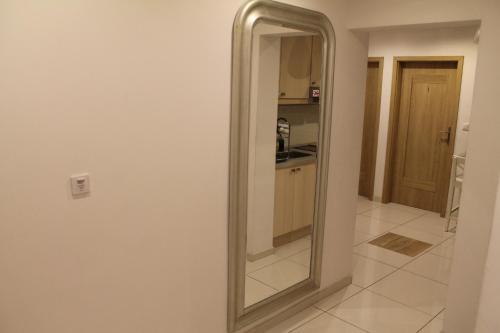 A bathroom at Hostel Kubik