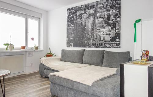 A seating area at Awesome home in Aachen with WiFi and 1 Bedrooms