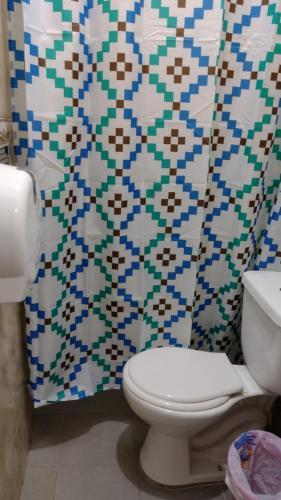 Een badkamer bij Hostel Mamabella