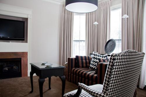 A seating area at Inn at St. Botolph