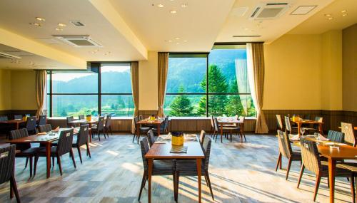 A restaurant or other place to eat at Hotel Tangram