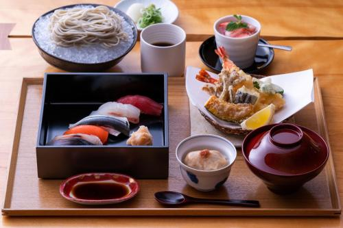 Breakfast options available to guests at Hyatt Regency Kyoto