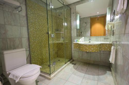 حمام في فندق إيلاف المشاعر مكة