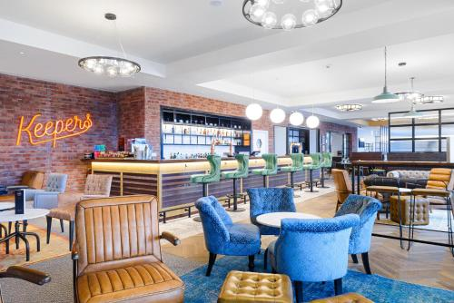 A restaurant or other place to eat at ibis Bridgwater, M5 Jct23
