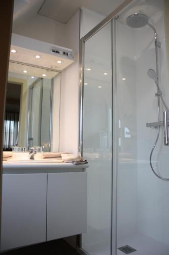 Een badkamer bij Villa Hotel (Adults only)