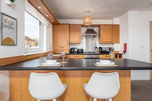 A kitchen or kitchenette at Walker Suite No52 - Donnini Apartments