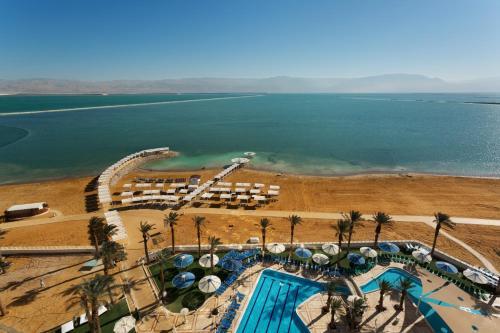 A bird's-eye view of Vert Dead Sea Hotel
