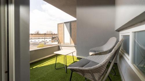 A balcony or terrace at Ginius Homes- Paris atmosphere room