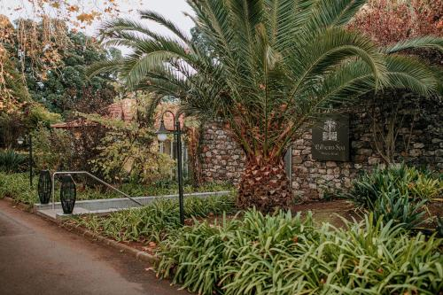 A garden outside Casa Velha do Palheiro