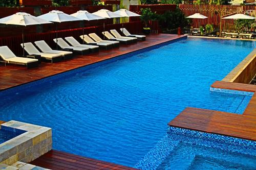The swimming pool at or close to Fraser Residence Menteng Jakarta