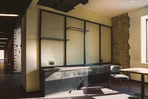 Ванная комната в Stalker Hotel & Hostel