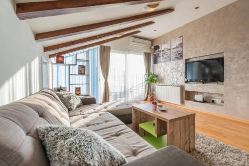 Posedenie v ubytovaní Apartment Marina Deluxe