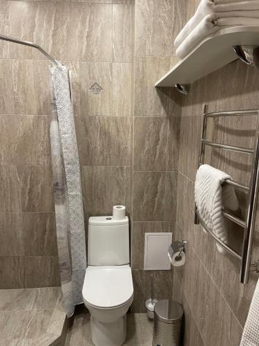 Ванная комната в Отель Астра