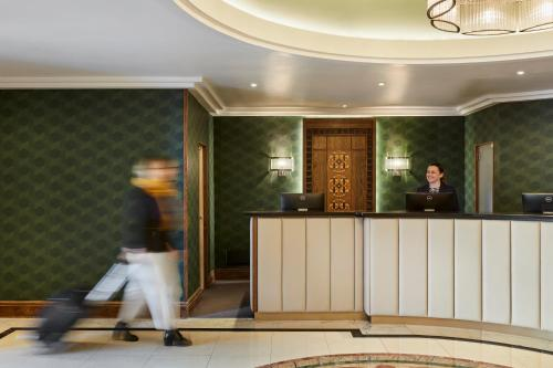 The lobby or reception area at The Clermont London, Charing Cross