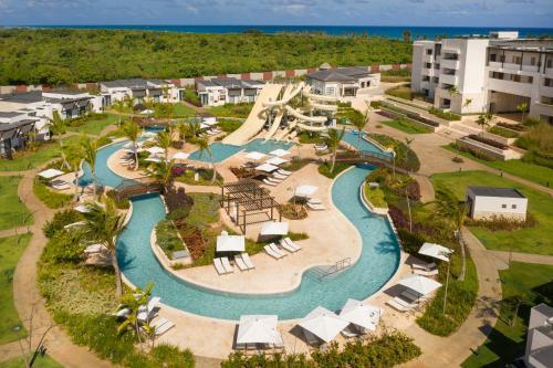 A bird's-eye view of Dreams Macao Beach Punta Cana