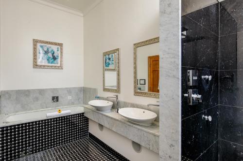 A bathroom at Lainston House
