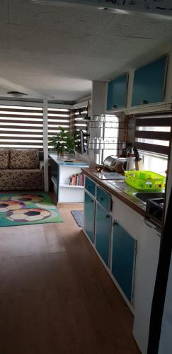 A kitchen or kitchenette at Pod Kamieńcem