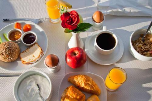 ALBA HOTEL & SPA tesisinde konuklar için mevcut kahvaltı seçenekleri