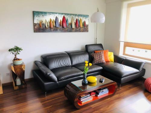 Кът за сядане в Appartment Sofi - Enjoy The View
