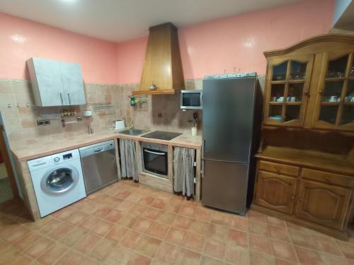 A kitchen or kitchenette at Casa Jesús