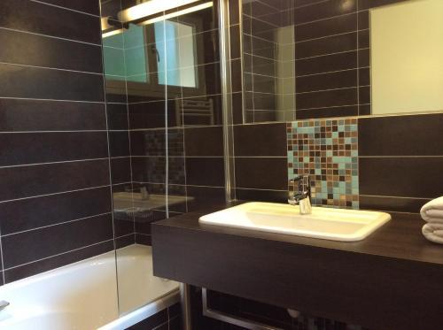 A bathroom at La Chaumiere