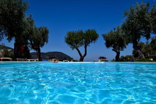 The swimming pool at or near Del Sol Skopelos