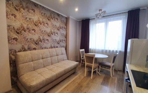 Гостиная зона в Apartment Bereg Kazanki