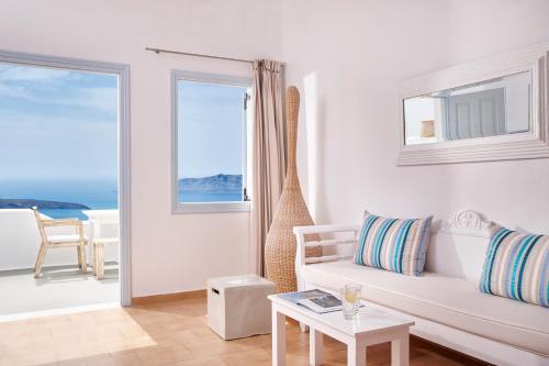 Area soggiorno di Mill Houses Elegant Suites